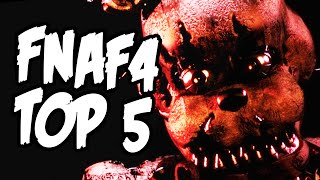 TOP 5 FAKTÓW O TEASERACH Z FIVE NIGHTS AT FREDDY