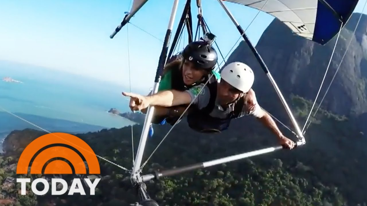 Hang gliding rio movie