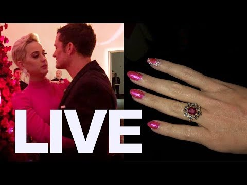 Katy Perry Orlando Bloom Engagment Details  ET Canada