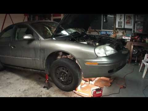 Mercury Sable/ Ford Taurus Coolant Leak/ Oil Leak Repair