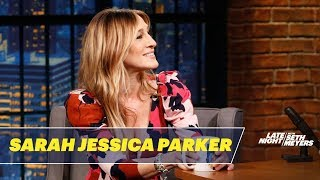 Sarah Jessica Parker Gets Emotional When Seth Gifts Her a Mug