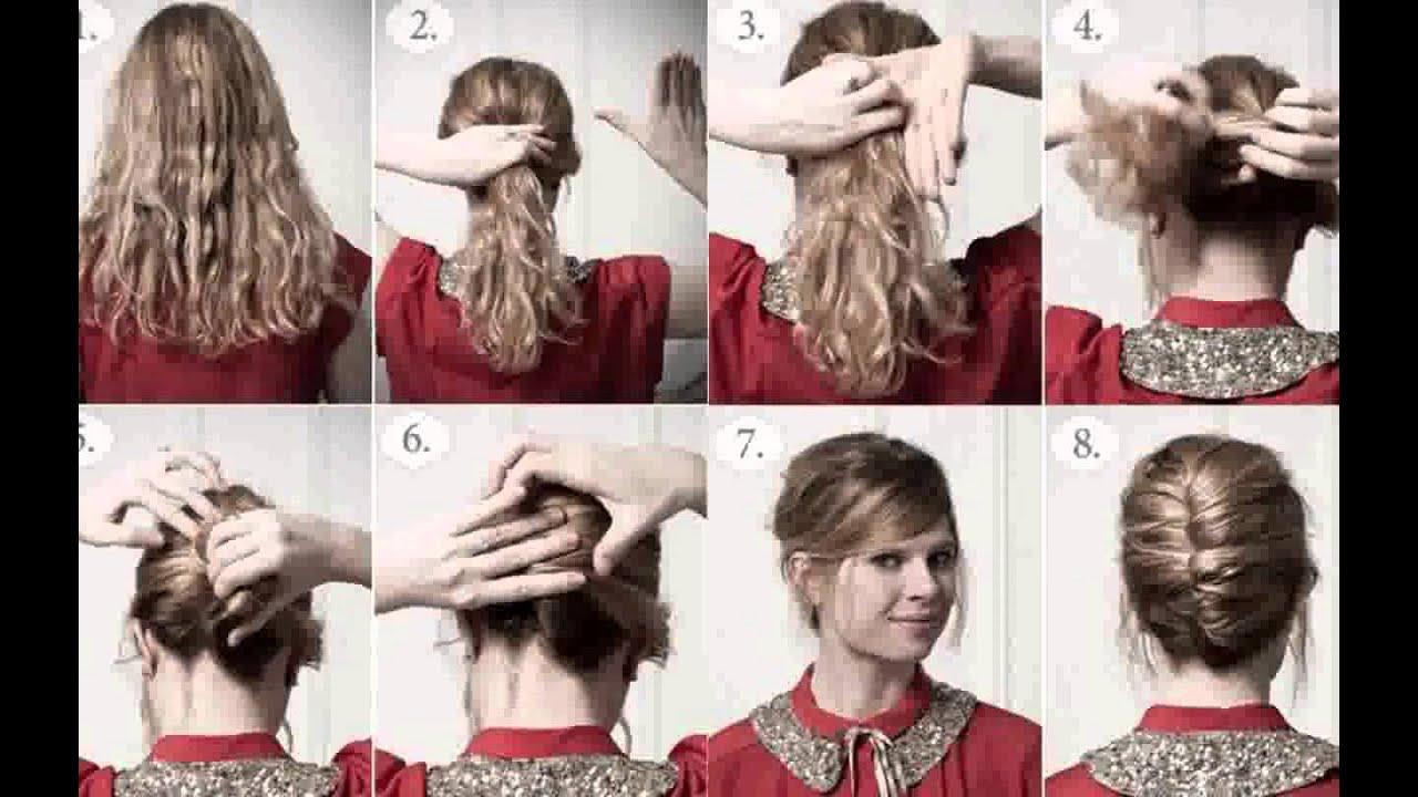 peinados pelo corto rizado paso a paso