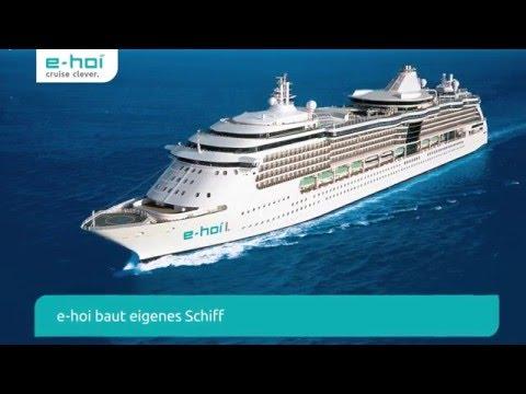 Breaking News: e-hoi baut eigenes Kreuzfahrtschiff!