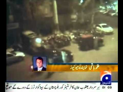 Exclusive CCTV Video of target killing of ANP worker in Karachi ??? Senator Haji Adeel must see it!!