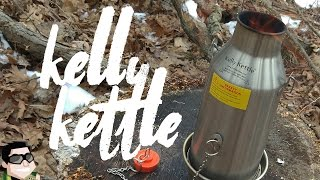 Kelly Kettle is the Fastest Stove!!