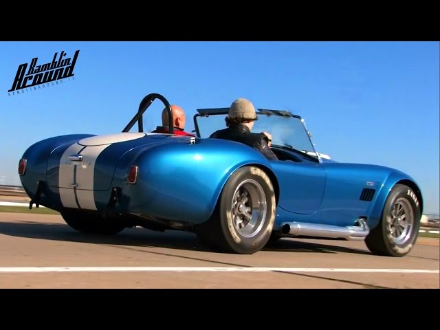 Test Driving 575 HP 1965 Shelby Cobra 427 SC CSX4891 - YouTube