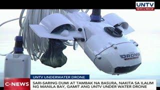 Sari-saring dumi at tambak na basura, nakita sa ilalim ng Manila Bay gamit ang UNTV Underwater Drone
