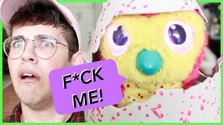 CURSING HATCHIMAL TOY! LET