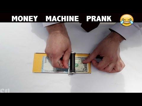 Money Machine Magic Prank