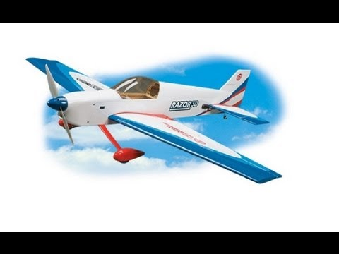 Tower Hobbies Razor 3D RC Plane Review and Flight