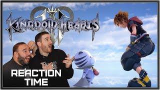 Kingdom Hearts III Winnie The Pooh Trailer - Reaction Time!