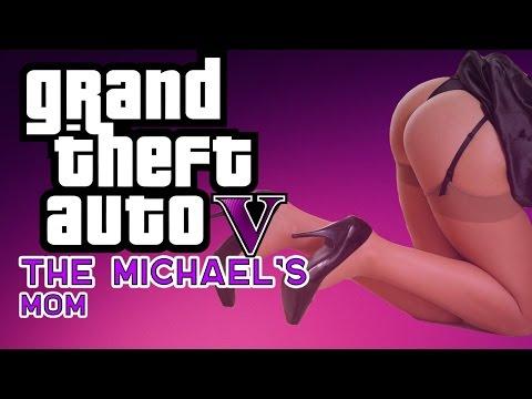 GTA V - Мать Майкла.GTA 5 Фильм, пародия.
