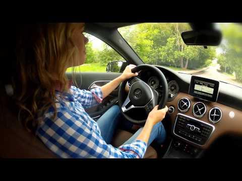 NEW Merсedes-Benz A Class: Тест-драйв в программе Москва рулит