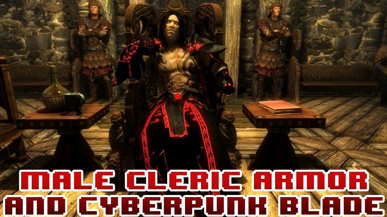 Blade Armor Skyrim Skyrim Mods Cleric Armor