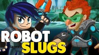 ROBOT SLUGS ? NEW CHAPTER SNEAK PEEK !! SLUGTERRA SLUG IT OUT 2 !