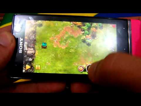 Review Sony Xperia U com android 4.0 ICS.games.apps.etc (PT-Brasil)