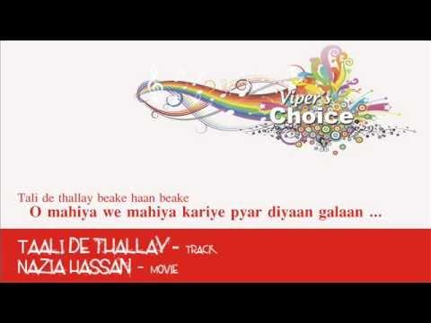 Taali de thallay - Nazia Hassan