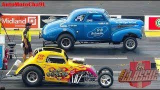 GOOD OLD DAYS NOSTALGIA CARS DRAG RACING 60s GASSERS FUNNY CARS