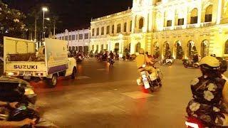 1 moto CSGT mở đường vẫn bay lượn như chim, ép luôn xe trật tự đô thị - Escort VIP with 1 moto