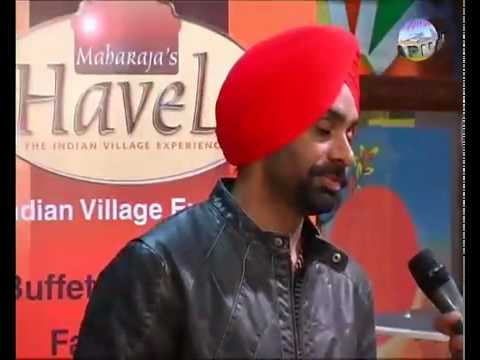 Babbu Mann Interview In Sydney By Amarjit Khela 1 of 4 .flv video