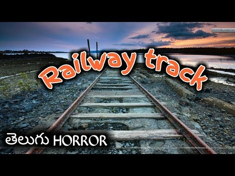 Railway track real life horror story in telugu part 02 by Anusha channel