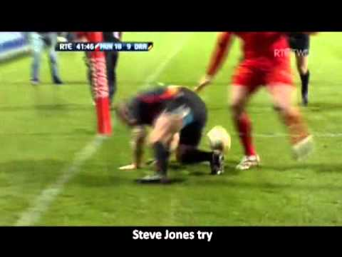 Munster vs Dragons - Magners League 2010/11 - R17