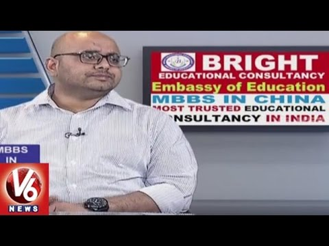 MBBS In China   Bright Educational Consultancy   Career Point   V6 News