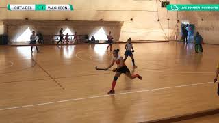🏑 Highlights #U21F #Indoor ~ Città del Tricolore vs Valchisone 🥅