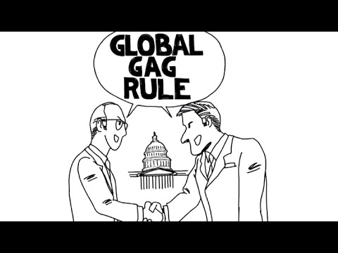 What is the global gag rule? Cecile Richards Explains