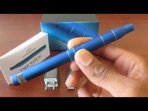 How To Vape - AGO G5 Dry Herb Vaporizer Pen