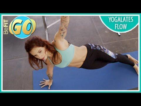 Yogalates Flow Workout: 10 Min- BeFiT GO