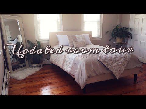 Updated bedroom tour || Minimalist || 2018