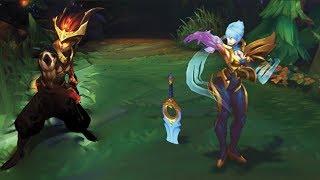 Dawnbringer Riven & Nightbringer Yasuo TRAILER Skin Spotlight - League of Legends