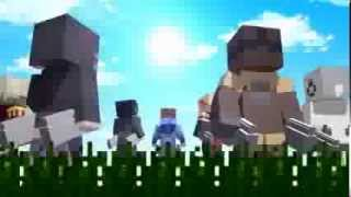 ?minecraft?Attack on Titan (Shingeki no Kyojin) Anime Opening (HD 1080p)