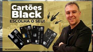 Cartões Blacks escolha o seu. CARTÃO DE CRÉDITO ALTA RENDA