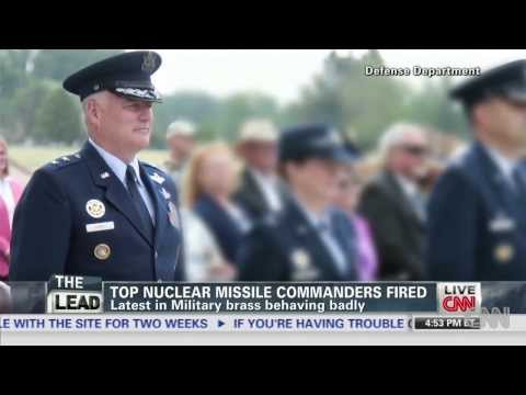 34 More Nuclear Missile Launch Officers Now Fired!