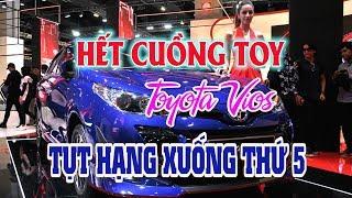 Người Việt hết cuồng Toy: Vios tụt xuống xếp thứ 5 trong top 10 xe bán chạy | Dazzlevina Channel