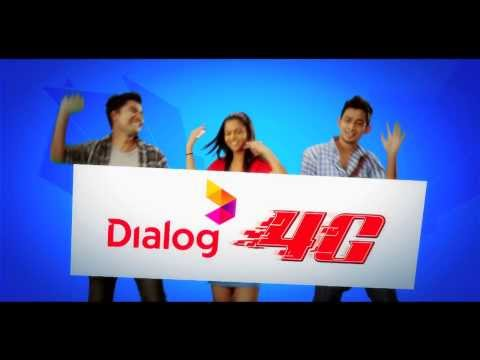 "Dialog 4G ""Coverage"" TVC"