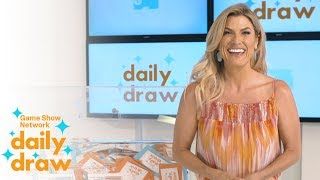 Daily Draw $500 Winner with Trish Suhr | July 19th, 2018 | Game Show Network