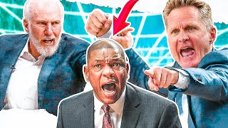 Most HEATED Moments - NBA Coaches Edition!