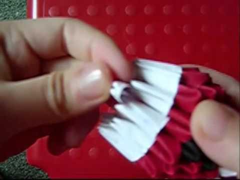 How To Make Santa In Origami