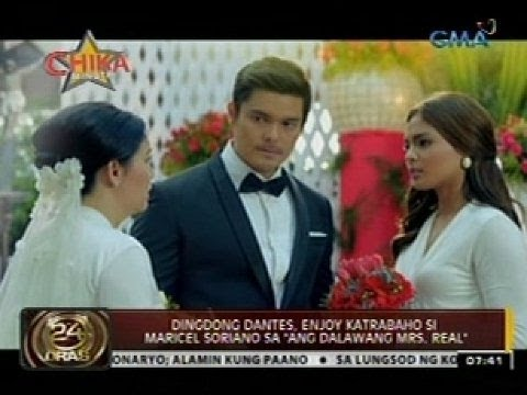 24 Oras: Dingdong Dantes, looking forward daw na makasal kay Marian Rivera