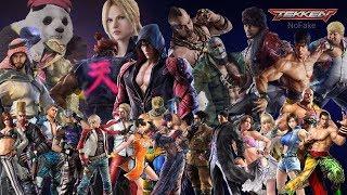 Tekken Mobile All 27 Characters Rage arts showcase