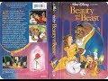 Opening & Closing to Beauty and the Beast 1992 VHS (Version 2)