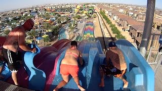 Desert Race Water Slide at Wet