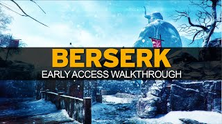 Black Ops 3 - EARLY ACCESS - BERSERK Complete Map Walkthrough - Viking Castle (BO3 Descent DLC)