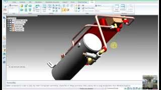 SolidEdge Tutorials 20 :Creating a tube part with XpresRoute