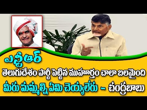 AP CM Chandrababu on Conspiracies||Says BJP at centre can't touch TDP||#ChetanaMedia