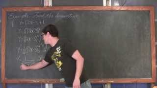 Derivative of Absolute Value Functions