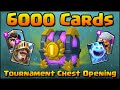 Download Video Clash Royale - 6000 CARDS Tournament Chest Opening! First Ever! MP3 3GP MP4 FLV WEBM MKV Full HD 720p 1080p bluray